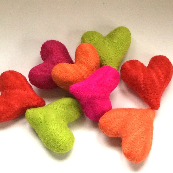 Felted Hearts Knitting Pattern