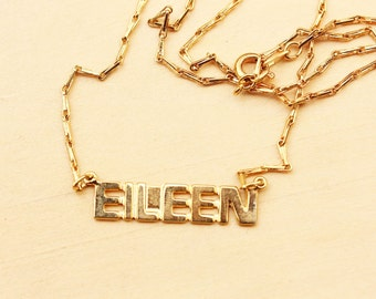 Name Necklace - Eileen