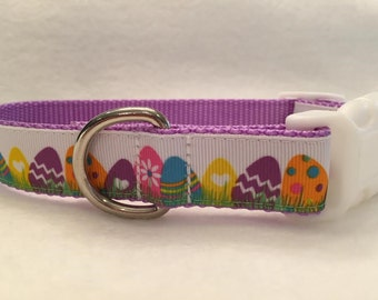 Easter Egg Dog Collar - Last One!  Size S