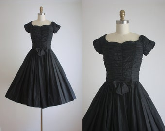1950s moonlight party dress