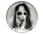 """Scary Stories To Tell In The Dark Haunted House button pin pinback badge 1.5"""" ONE & a HALF INCH handmade homemade ghost stories horror"""