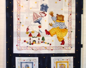 Baby Quilt Cheater Panel