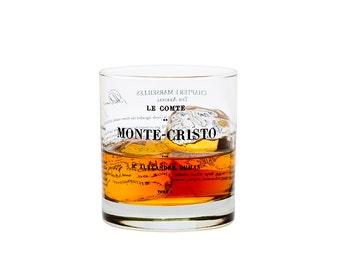 Count of Monte Cristo - Literature Rocks Glass