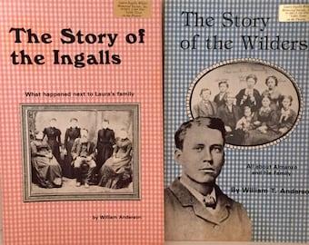Vintage Books, Laura Ingalls Wilder History Set of 2