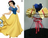 Reversible Snow White Cosplay  Dramatic  Bolero Shrug EMO RINGMASTER  Circus