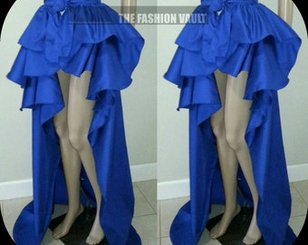 Ringmaster Bustle  Burlesque maxi skirt Steampunk Cosplay