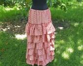 STEAMy Summer Sale! Pink Polka Dot Bustle Skirt 50% off!