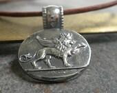 Winged Lion of Venice Pendant Necklace