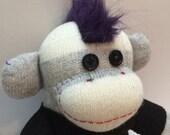 Brodie the Punk Sock Monkey