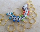 Colors About - Row Counter - Pick you color - Matching stitch markers