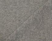Custom order for Hannah - Large Grey Herringbone - Hand Felted Wool Fabric - Felted Wool Fabric- 100% Wool