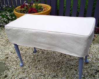 Bench Slipcover, Bench Cover, Piano Bench Cover Or Ottoman Slipcover