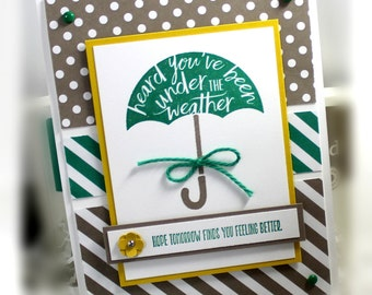 Stampin' Up Get well Card