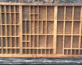 """32"""" x 17"""" LARGE Printers Drawer / InTheDay / In The Day Vintage Shop"""