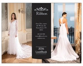 LookBook Catalog template - Ribbon design mix and match pages