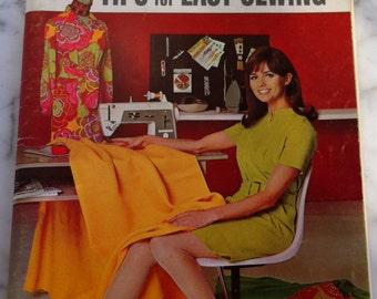 Vintage Retro MOD 1960s Fashion Design Sewing 60s Dress 60s Hippie