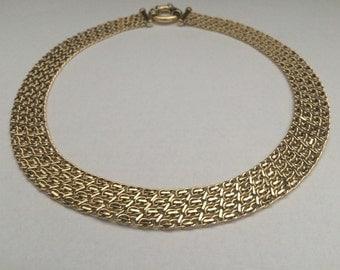 18kt Yellow Gold Neck Collar