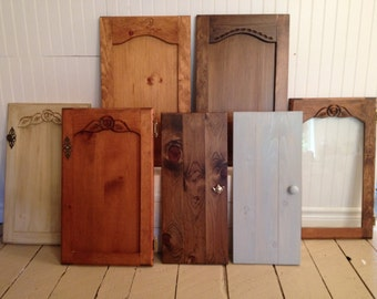 Replacement cupboard doors, cabinet doors, kitchen or bathroom.