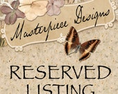 Reserved Listing for Isabelle Simard