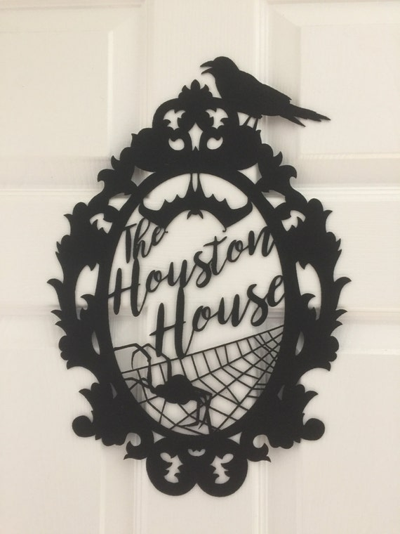 Custom Name Halloween Sign