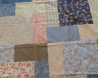 Quilt Top: Handmade / Unfinished