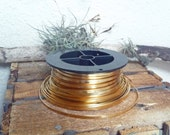 """Brass Bezel Wire 3, 5 and 10 Feet x 1/8"""" High 28g FREE SHIPPING"""