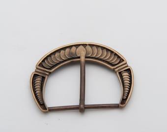Fantasy brass coloured belt buckle larp game of thrones steampunk costume sca ren faire steampunk elven warcraft cosplay