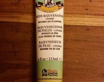 Dr. Jackson's hide rejuvenator cream leather nourisher preserver