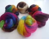 Heidifeathers Space Dyed Wool Mix