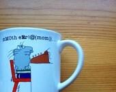 Boynton 1980's frustrated typist mug vintage
