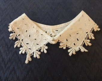 Vintage Lace Collar 2 Victorian Cottage Chic