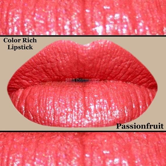 Coral Pink Color Rich Lipstick- Passionfruit