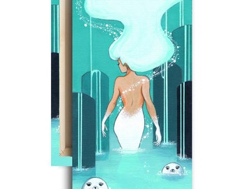 """LIMITED EDITION: """"Selkie"""" Canvas Reproduction 2 of 10"""