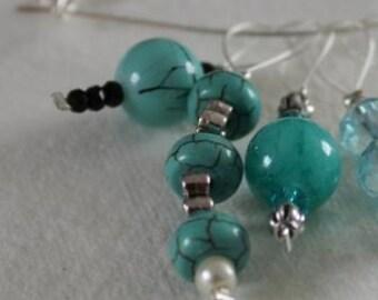 Luxury Beaded Stitch Markers – turquoise