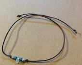Beach Glass Wish Bracelet