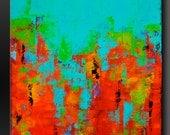 Carousel 17 - 24 x 30 - Abstract Acrylic Painting - Fine Art Contemporary Original