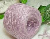 40% OFF Spring Crocus Yarn, Brushed Acrylic, Lavender, Lilac, Lace Weight Yarn, Bin 22