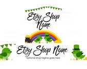 Etsy Banners - Etsy Shop Banners - St Patricks Day Etsy Banners - Saint Patrick's Day Etsy 1 - 2 Piece Set