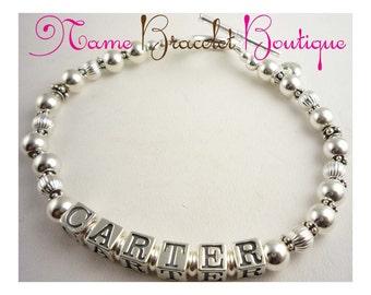 Child/ Children Name bracelet for Mother / Mom/ Grandma/ Nana/ Mimi - jewelry ladies