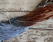 NEW - Hand-dyed Silky Cord in MUDPUDDLE, 6 yards