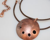 Necklace - Essential Oil Diffuser Copper