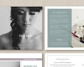 Wedding Photography Magazine Template - Pricing Guide Template - Wedding Photography Price List - Photographer Templates - m0245