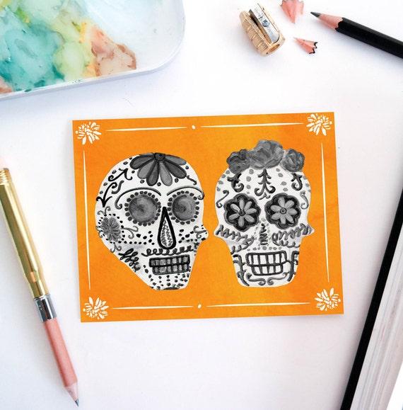 Happy Halloween cards by Striped Cat Studio | stripedcatstudio.com/shop