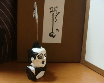 Klaus Nomi Memo Holder Sulpture(bust)