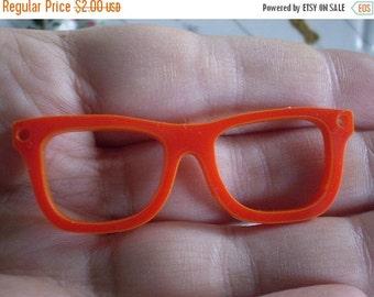 BIG SALE 1 pc Plexiglass Red Glasses Bead