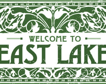 Welcome to East Lake  9 x 12