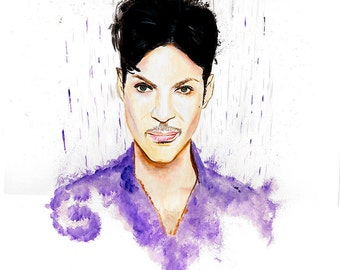 Prince  Limited Edition Canvas Art Print