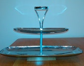 Danish Modern Relish Tray Chrome
