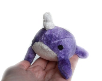 Narwhal Baby Plush Toy