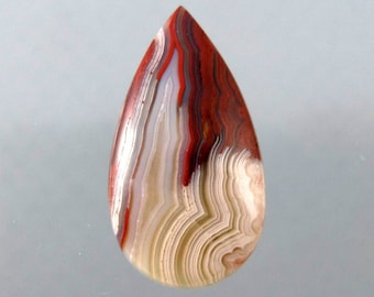 Lovely Laguna Lace Agate Designer Cabochon